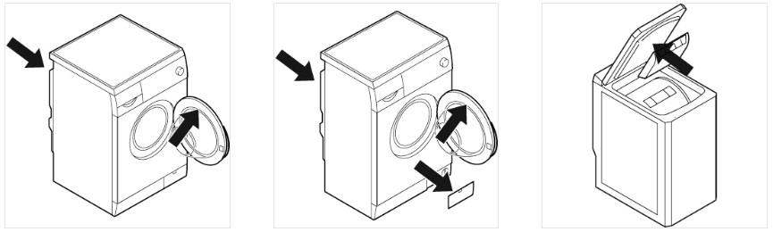 Localiza el modelo de tu lavadora Edesa